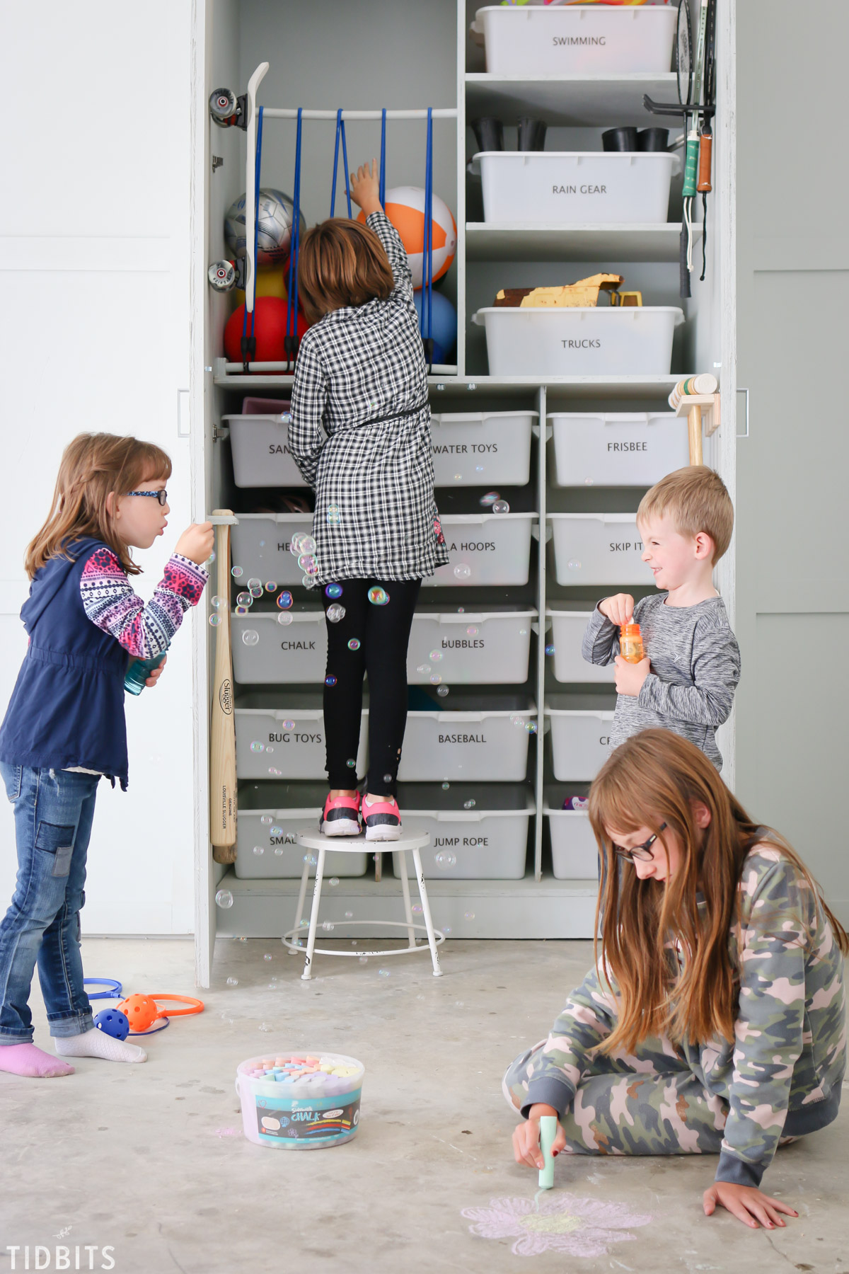 Garage Toy Storage And Organization Ideas