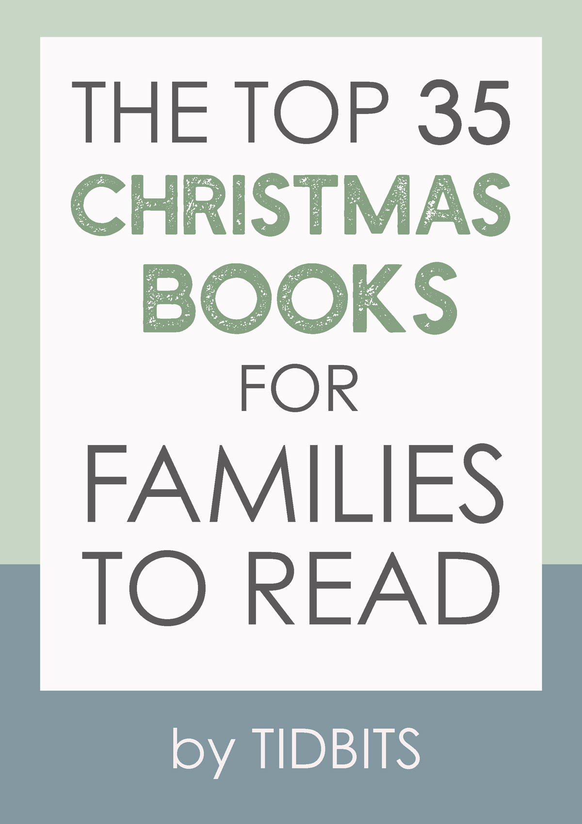 THE TOP 35 CHRISTMAS BOOKS FOR FAMILIES TO READ