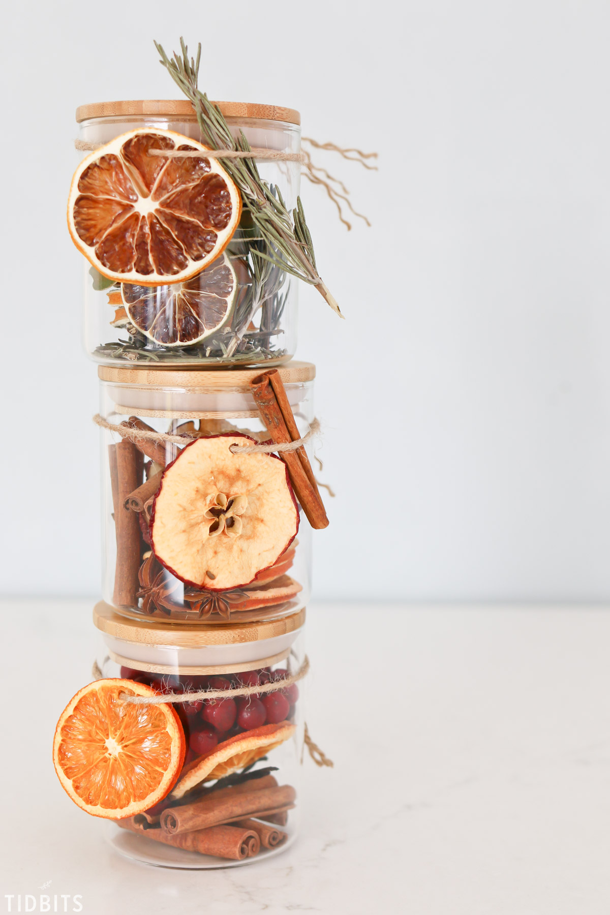 Homemade dried stovetop potpourri