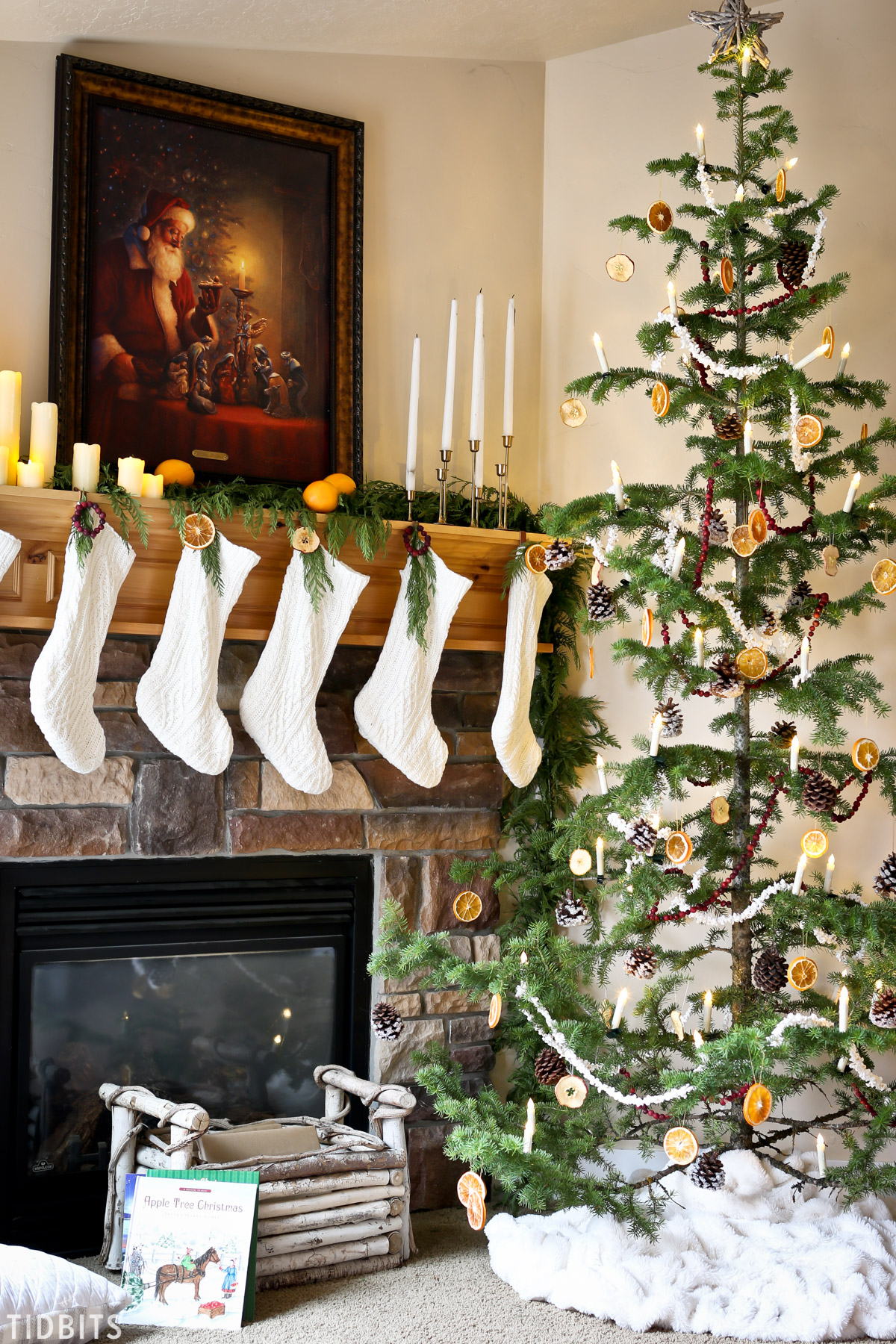Natural Christmas Decorations Tidbits