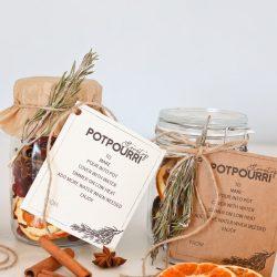 Stovetop Potpourri Printables
