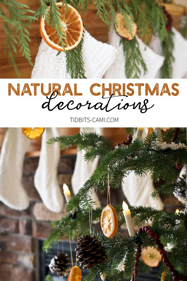 we kept things very simple and as inexpensive as possible but i hope youll still find some inspiration with our natural christmas decorations