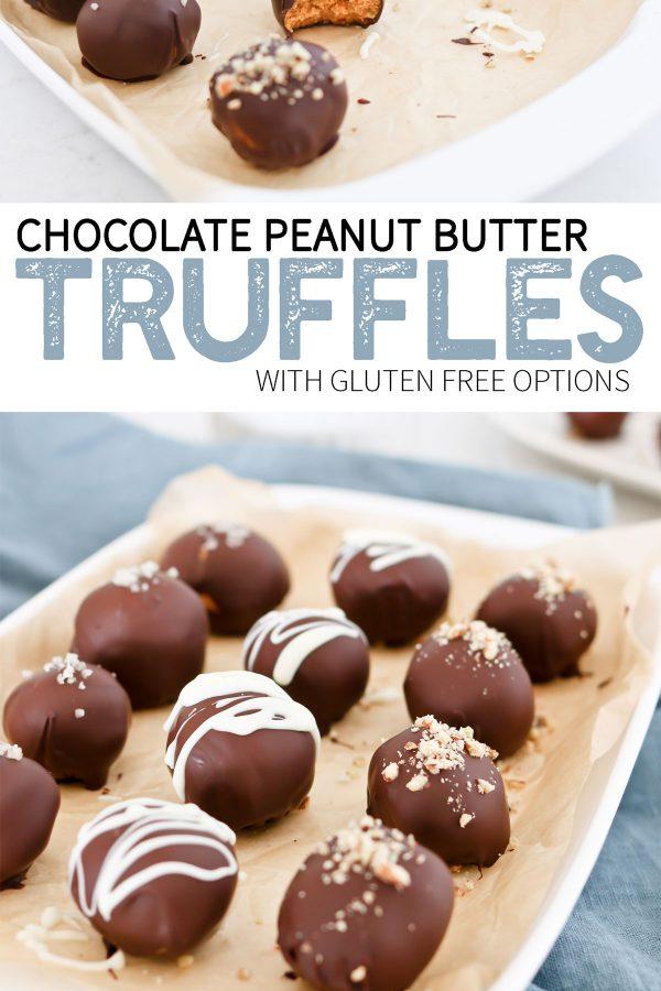 whole food chocolate peanut butter truffles.