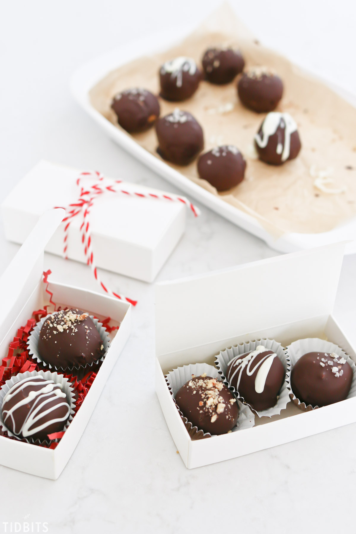 whole food chocolate peanut butter truffles.