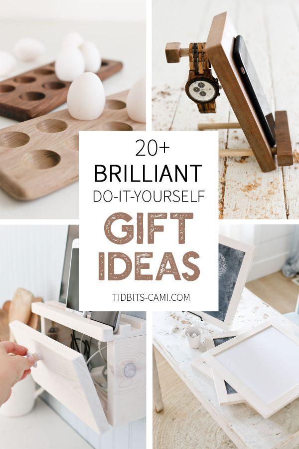 20 Brilliant Diy Gift Ideas Tidbits