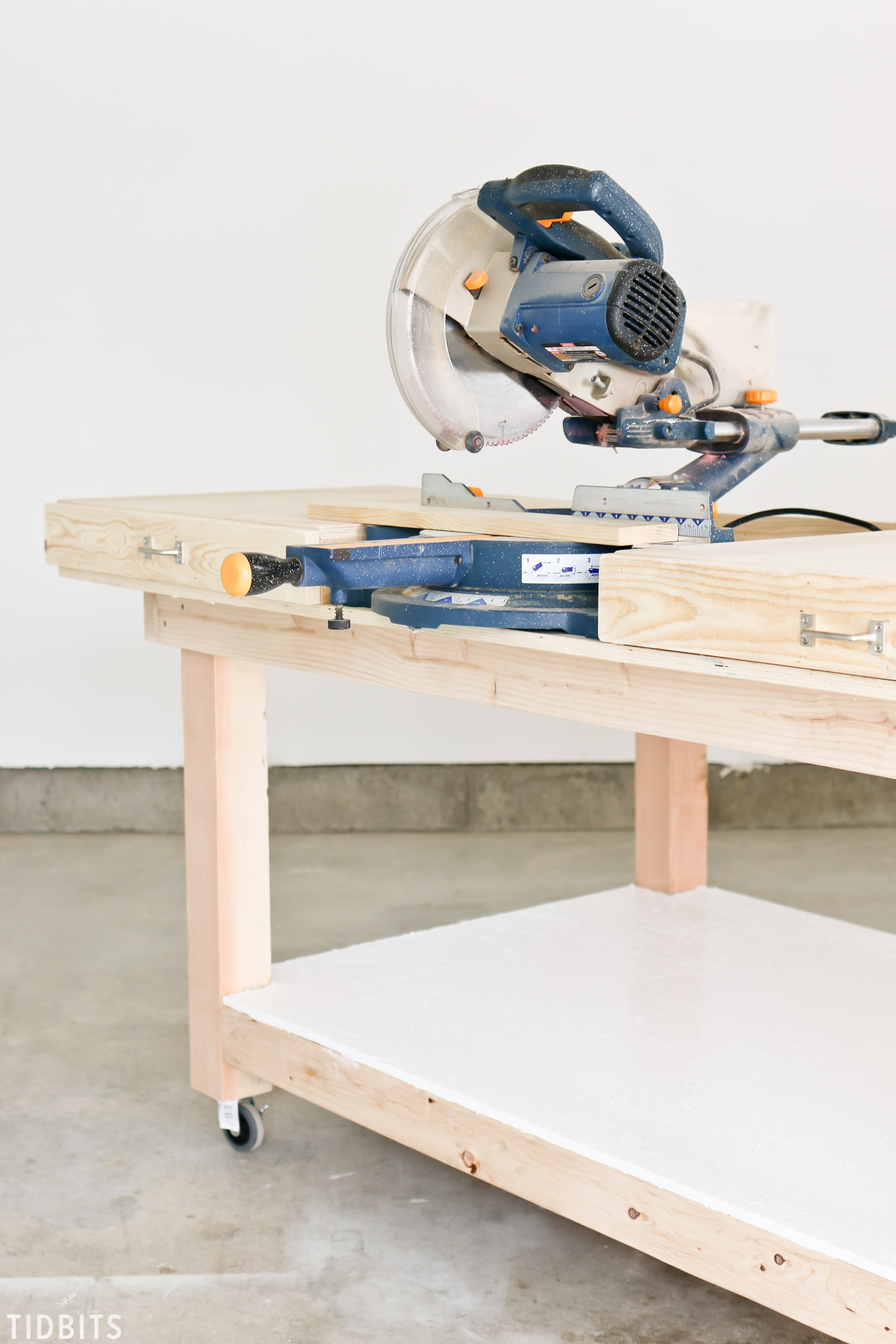 DIY Shop Worktable