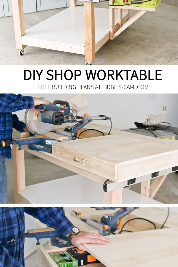 DIY Shop Worktable or workbench