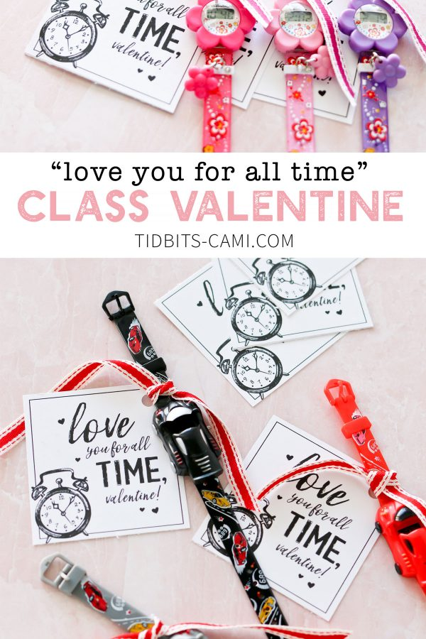 class valentine idea with free printable