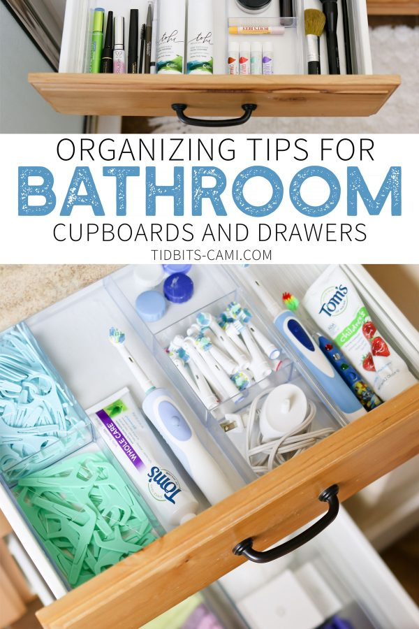 Organizing Bathroom Drawers And Cupboards Tidbits