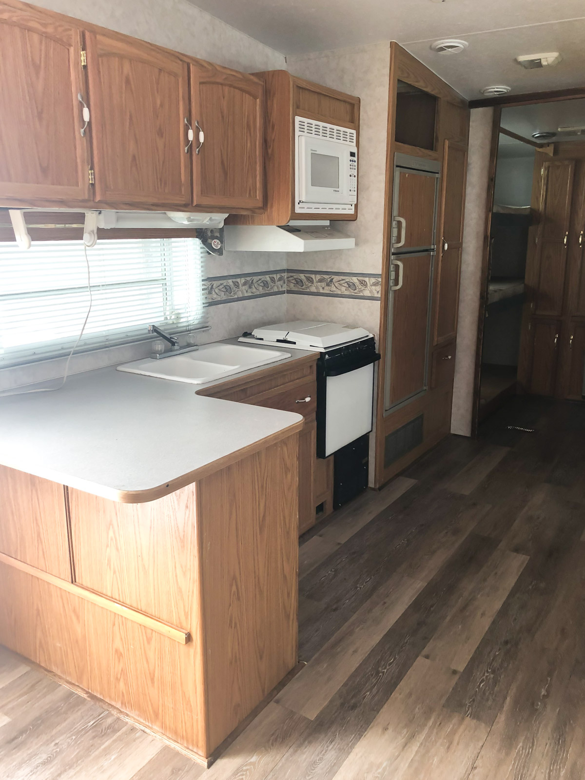 RV camper trailer makeover