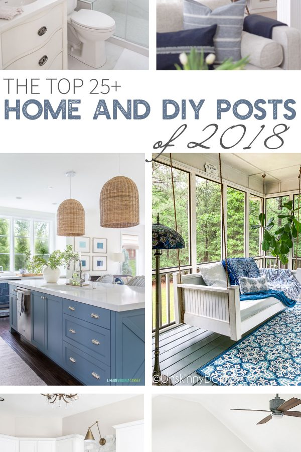 The top home and diy posts of 2018