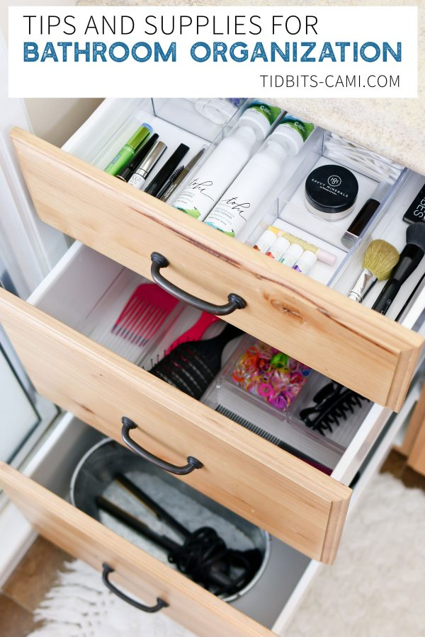 Bathroom Organization Drawers Clutter