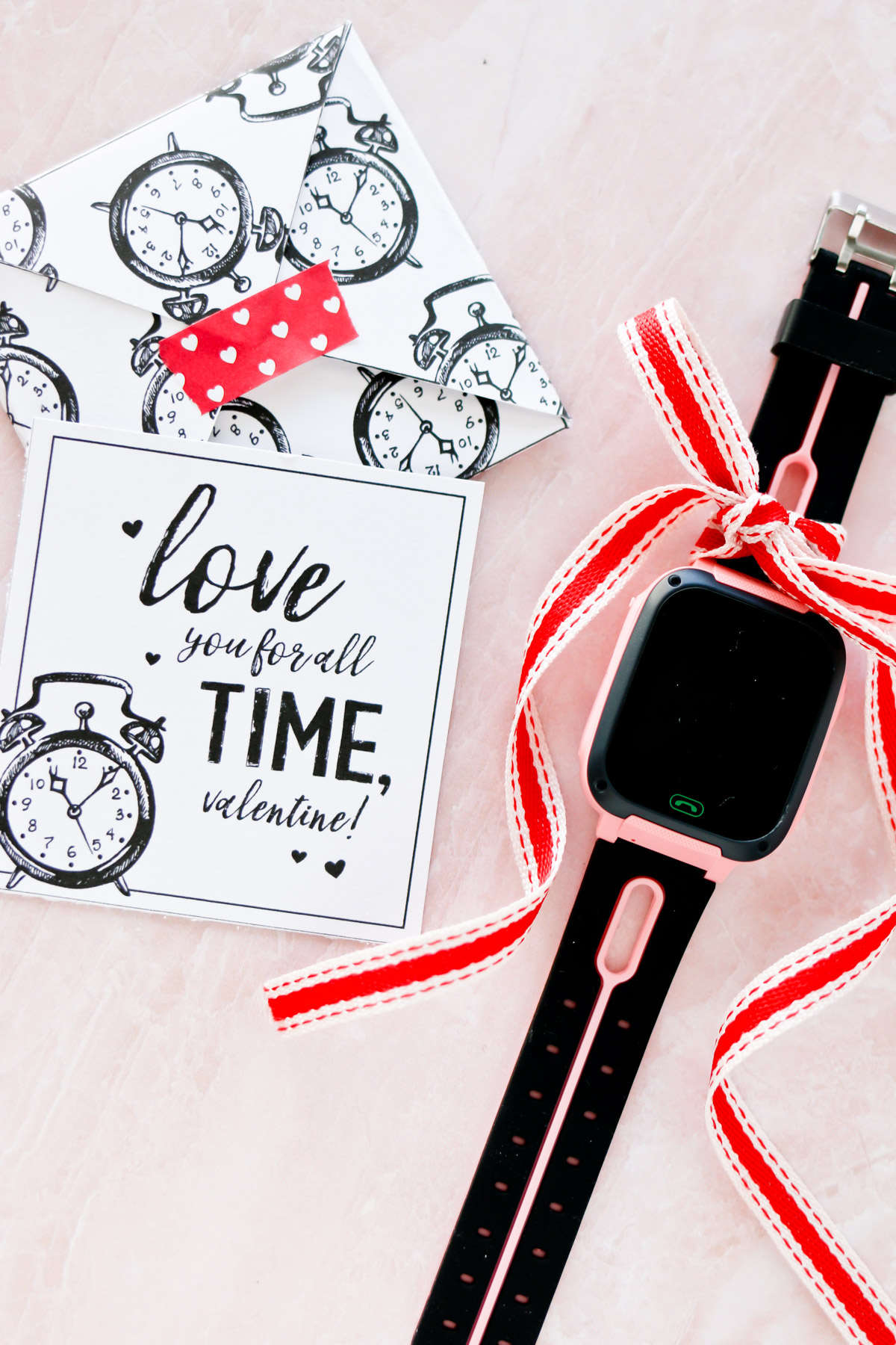 kids smart watch free printable valentines