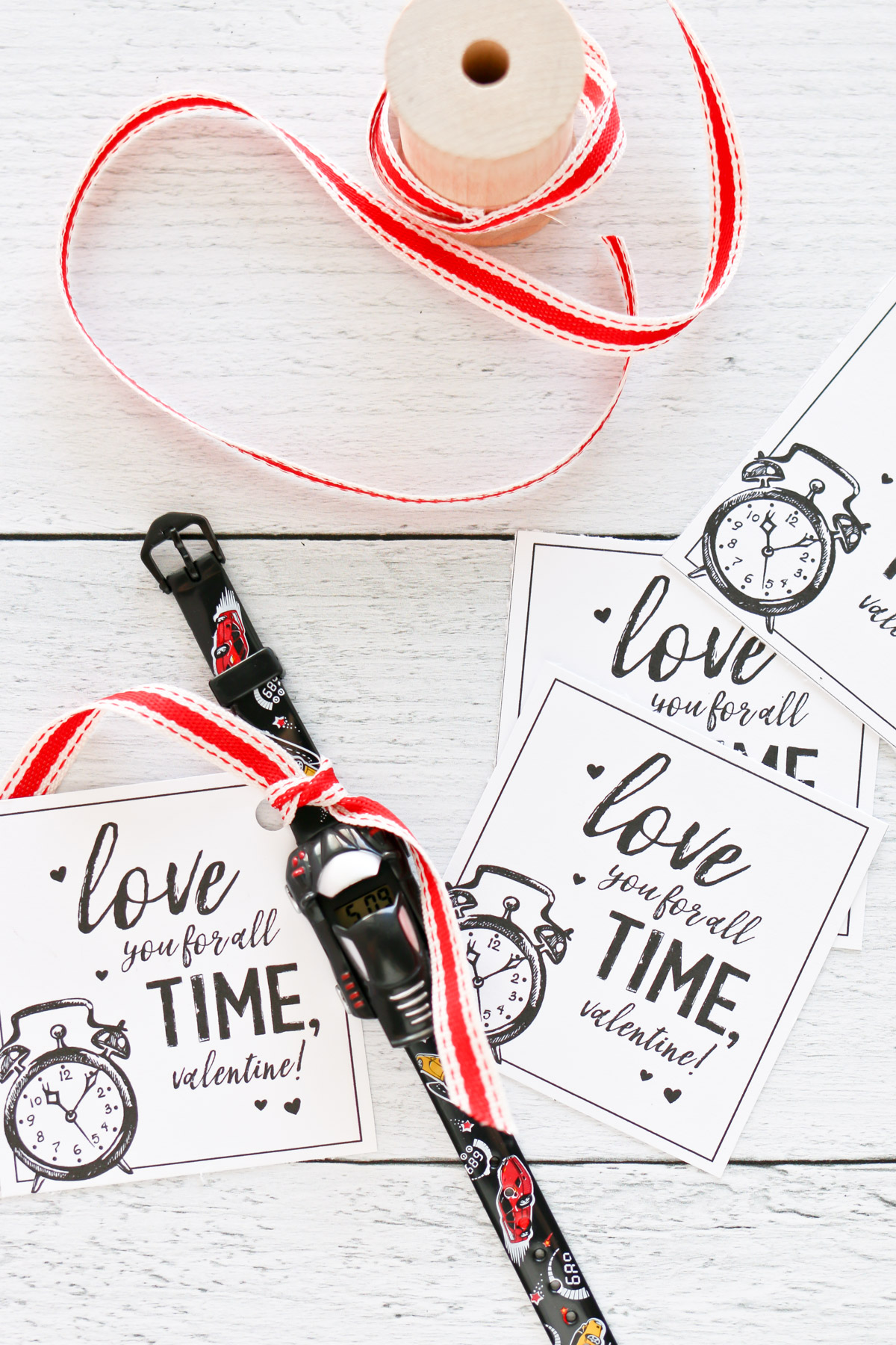 love you for all time valentine free printables
