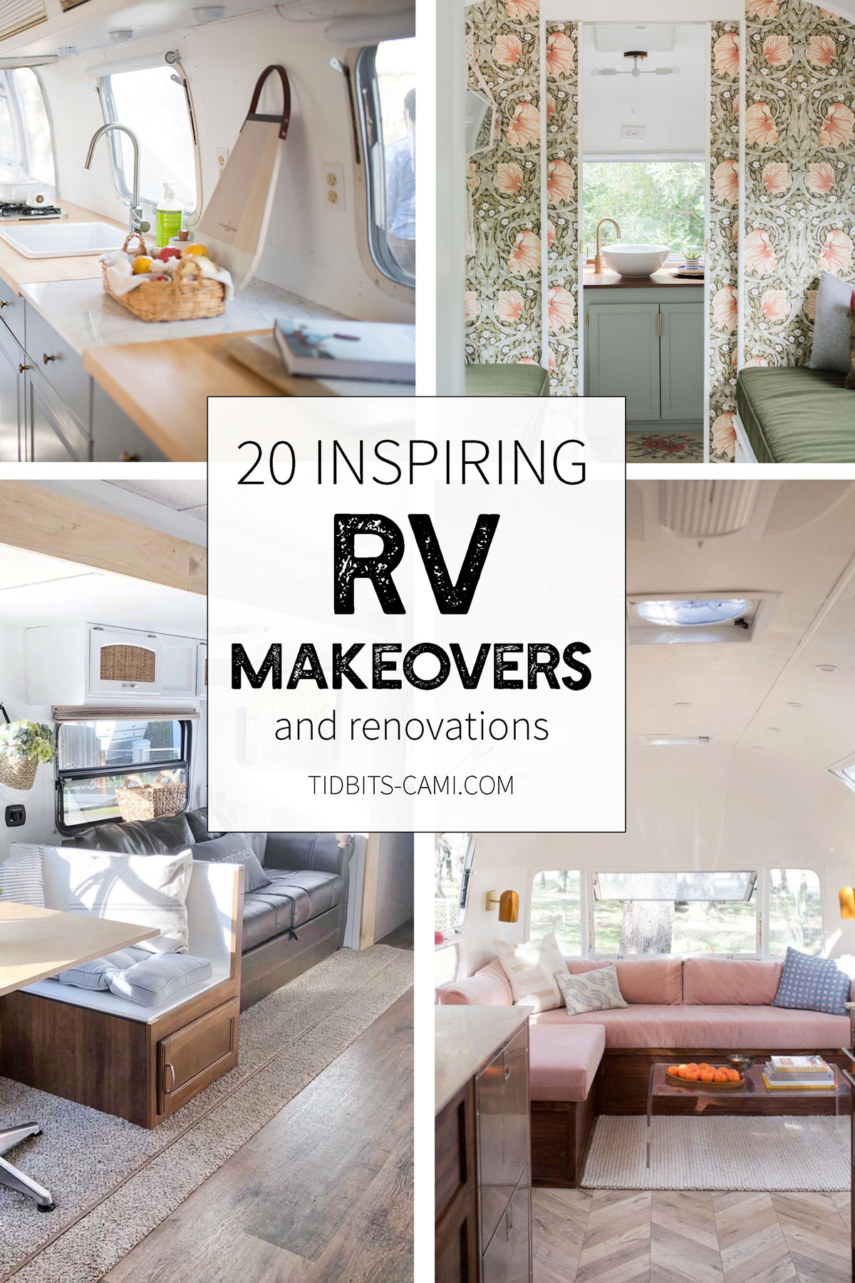 20 Inspiring RV Makeovers - Tidbits