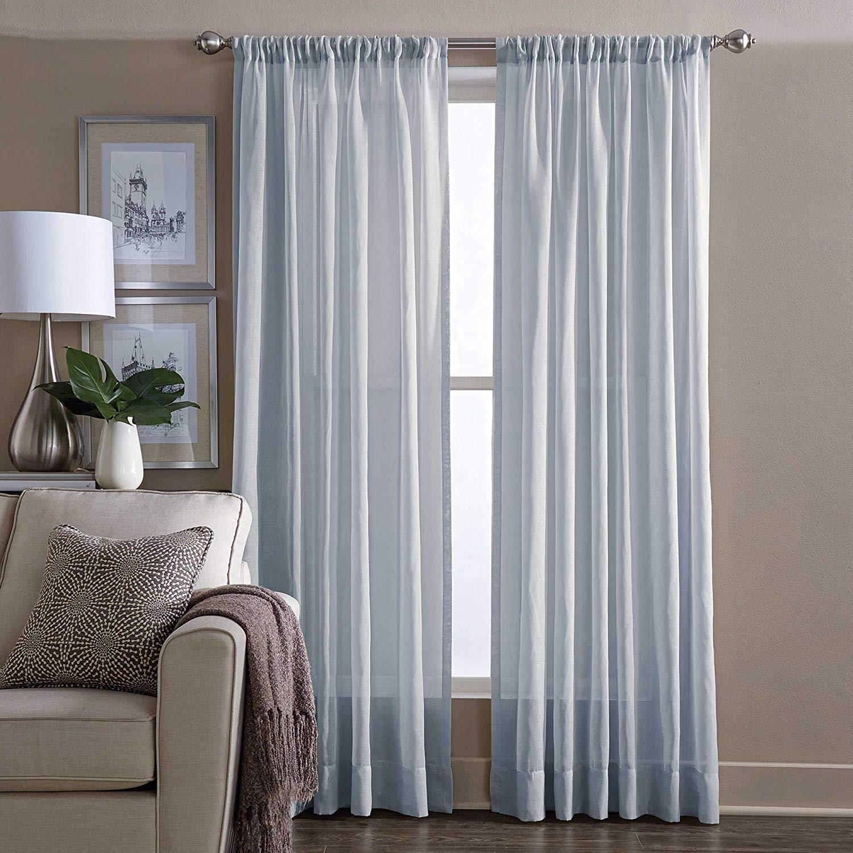 Blue Sheer Curtains Tidbits