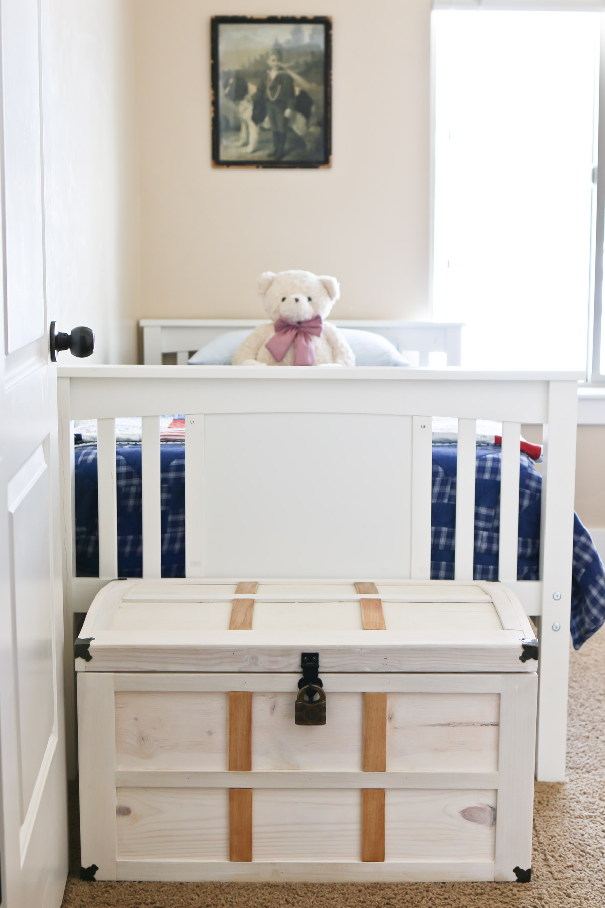 diy toy storage treasure chest - tidbits