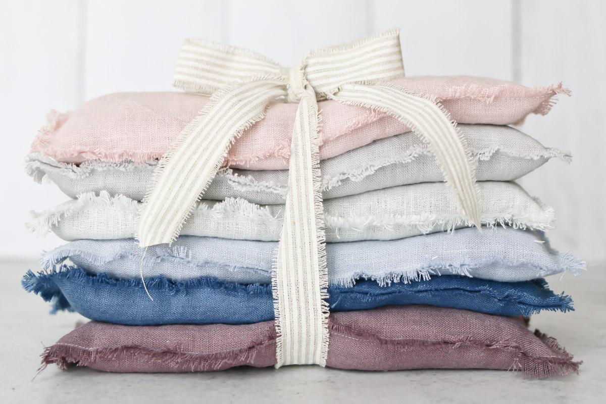 Linen Lavender eye pillows