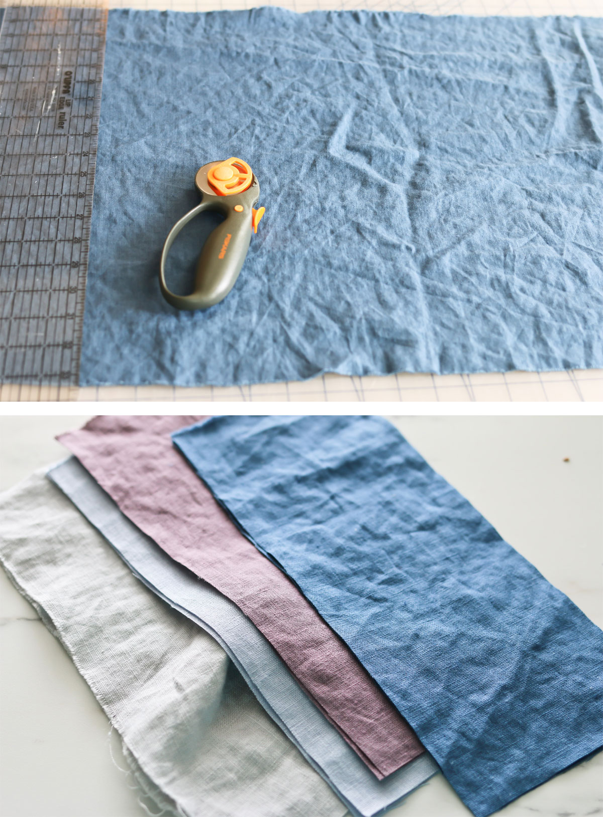 DIY Linen Lavender Eye Pillows