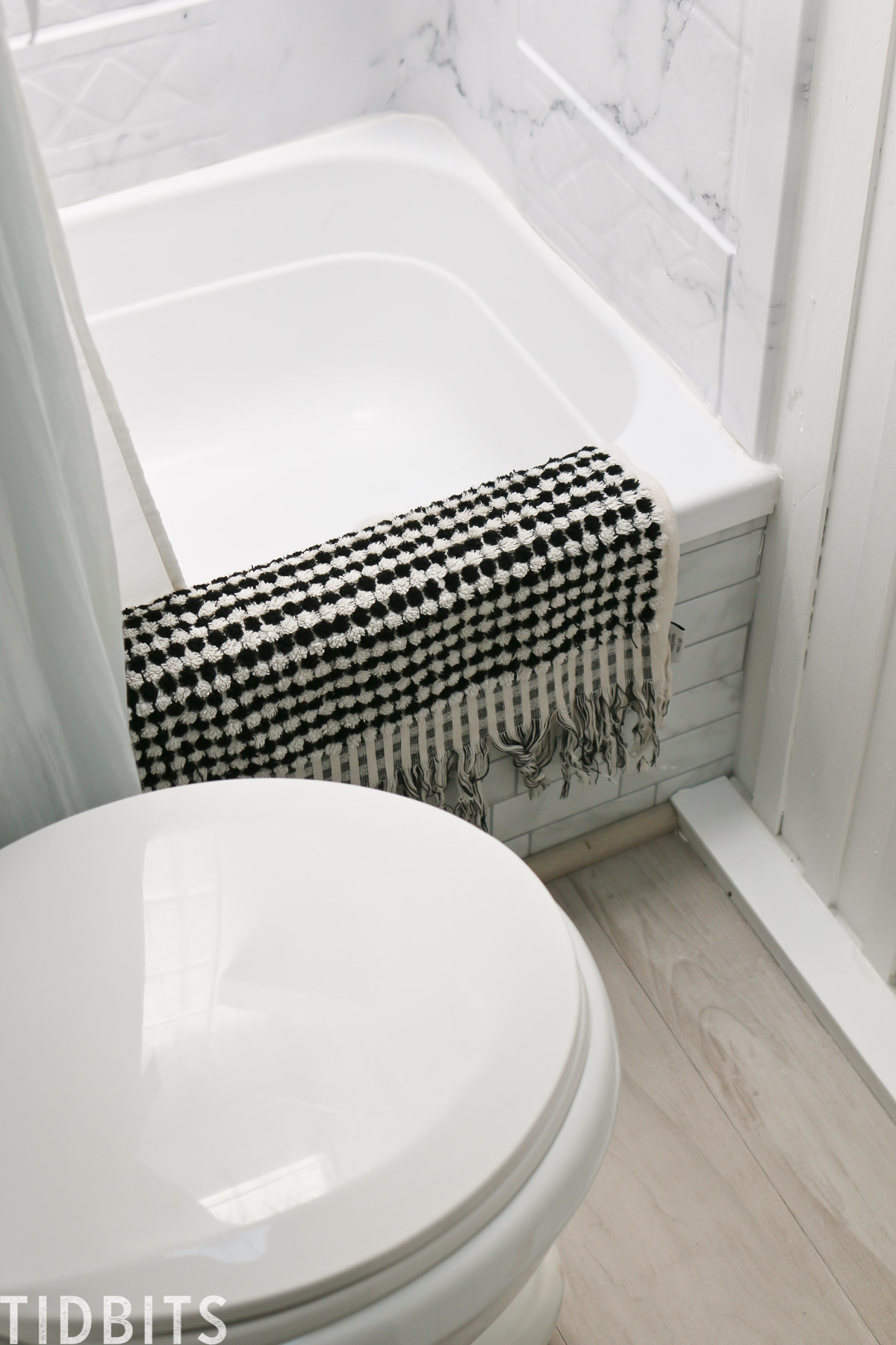 RV bathroom solutions, rug