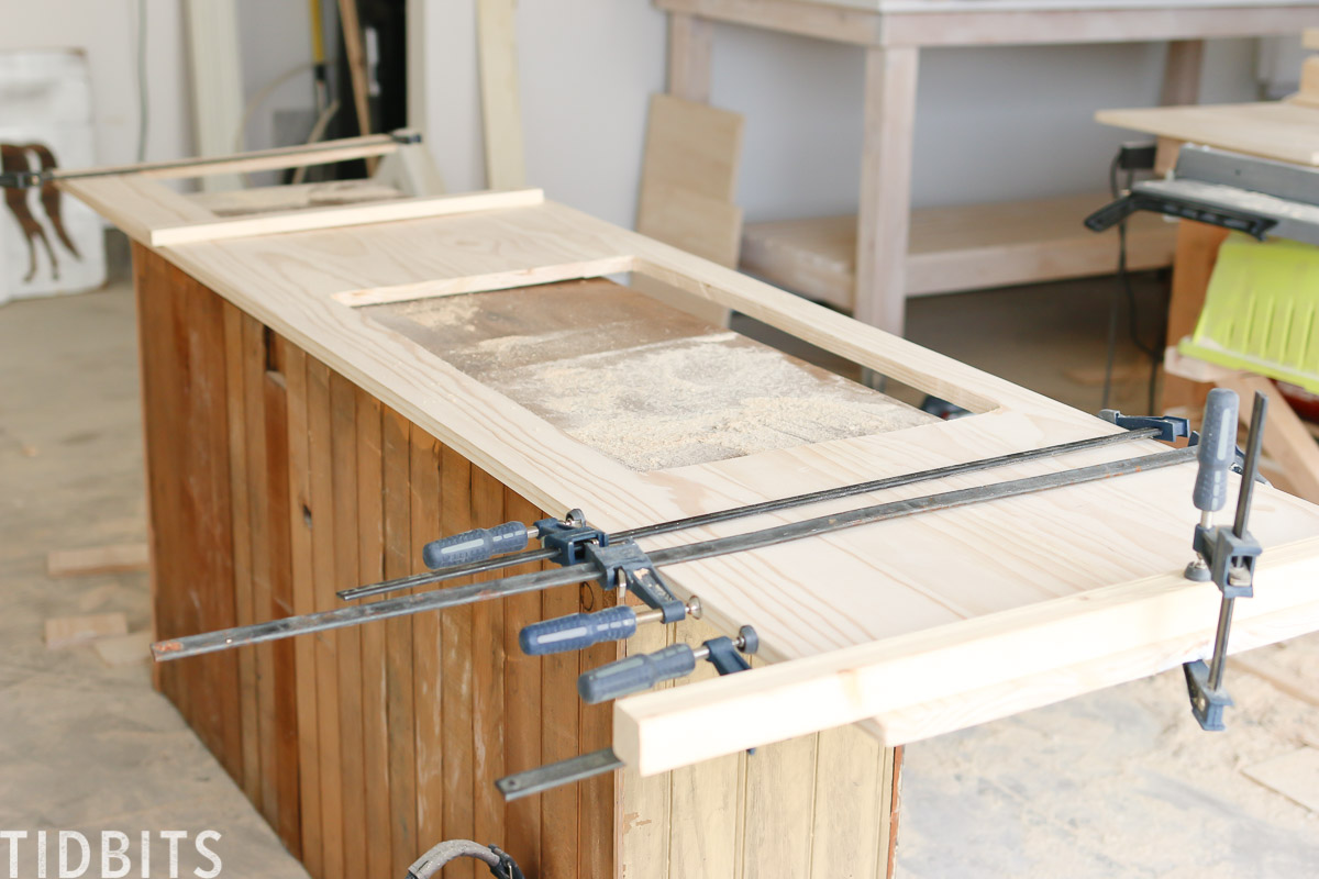 New RV kitchen countertop