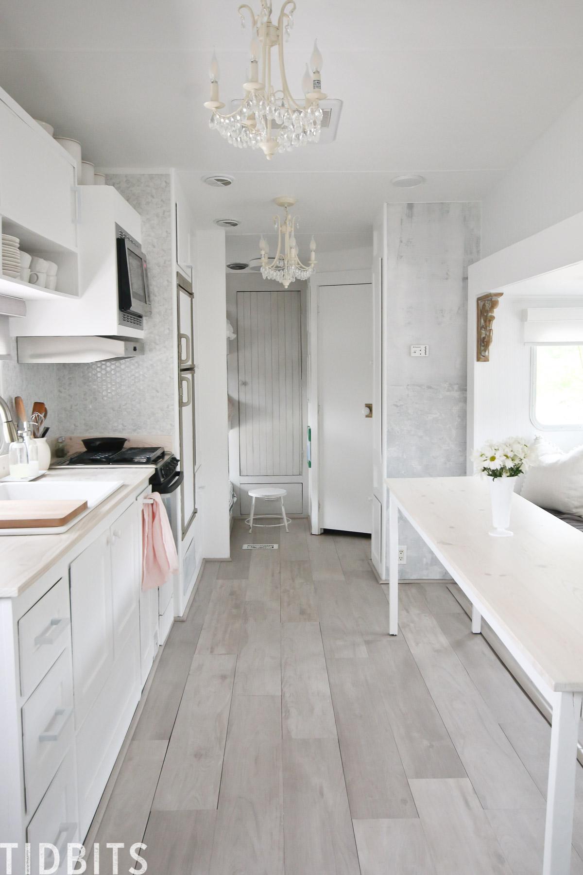 Rv Renovation Kitchen Details Tidbits