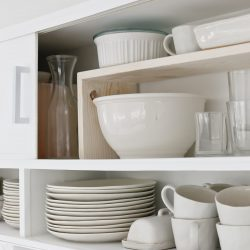 Easy DIY Cabinet Shelf Risers
