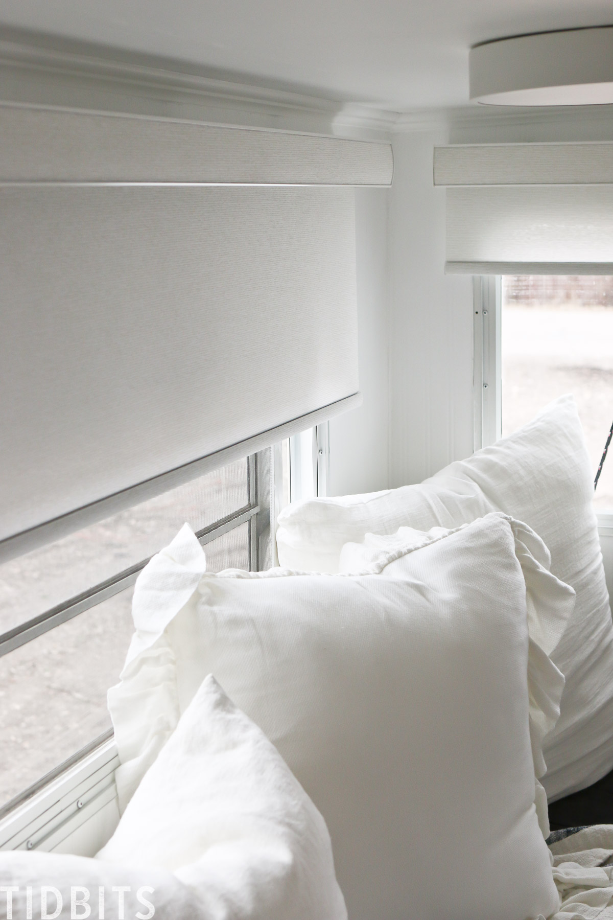 Roller Blinds for RV renovation
