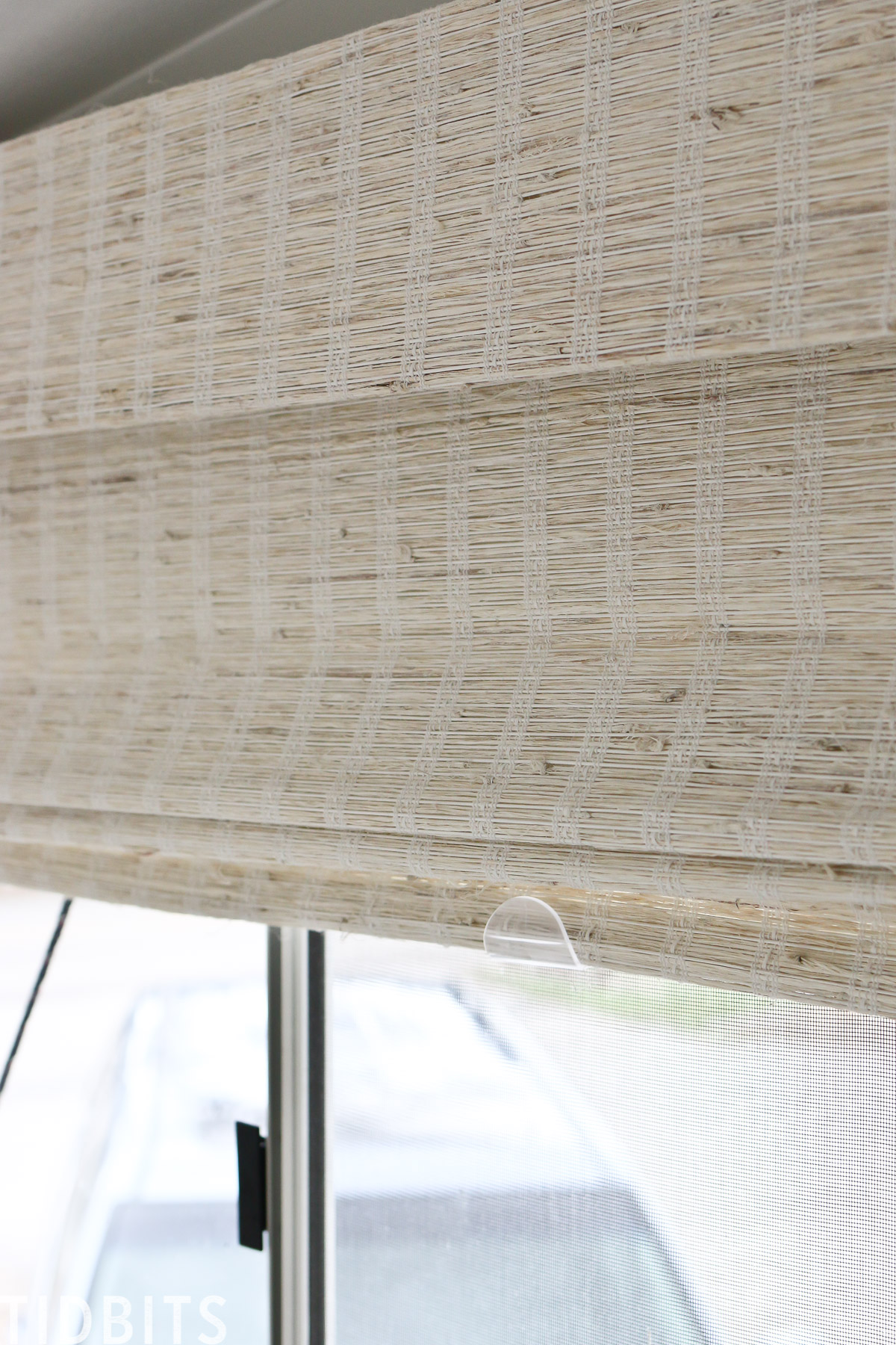 textured window shades for RV