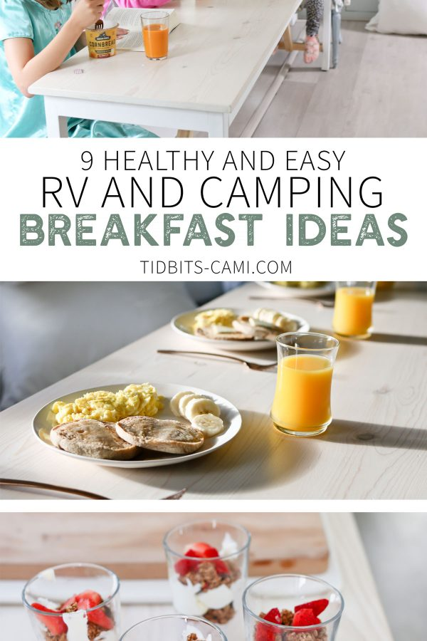 Healthy and easy Camping meals ideas.