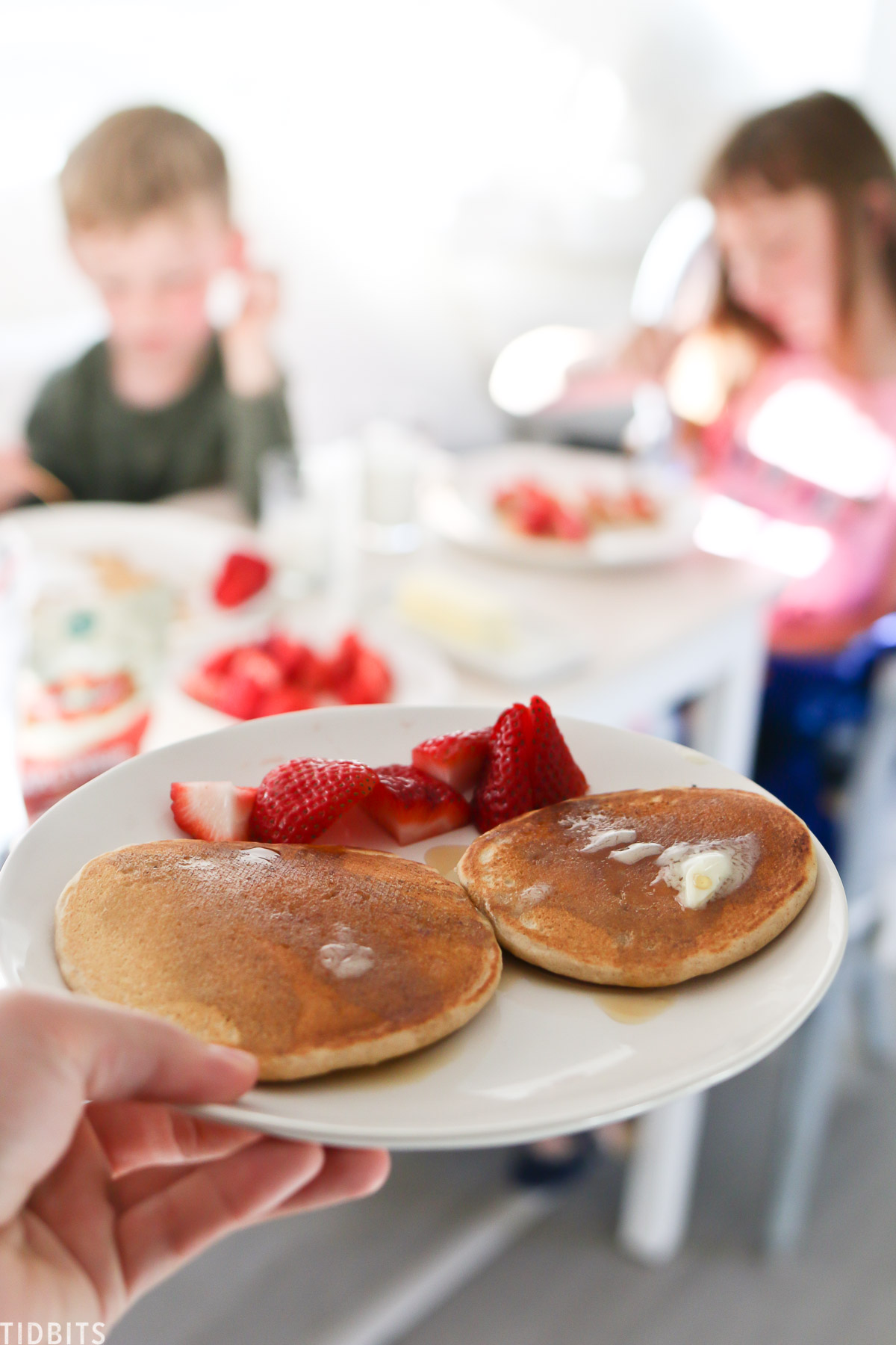 Whole grain pancakes for camping breakfast ideas