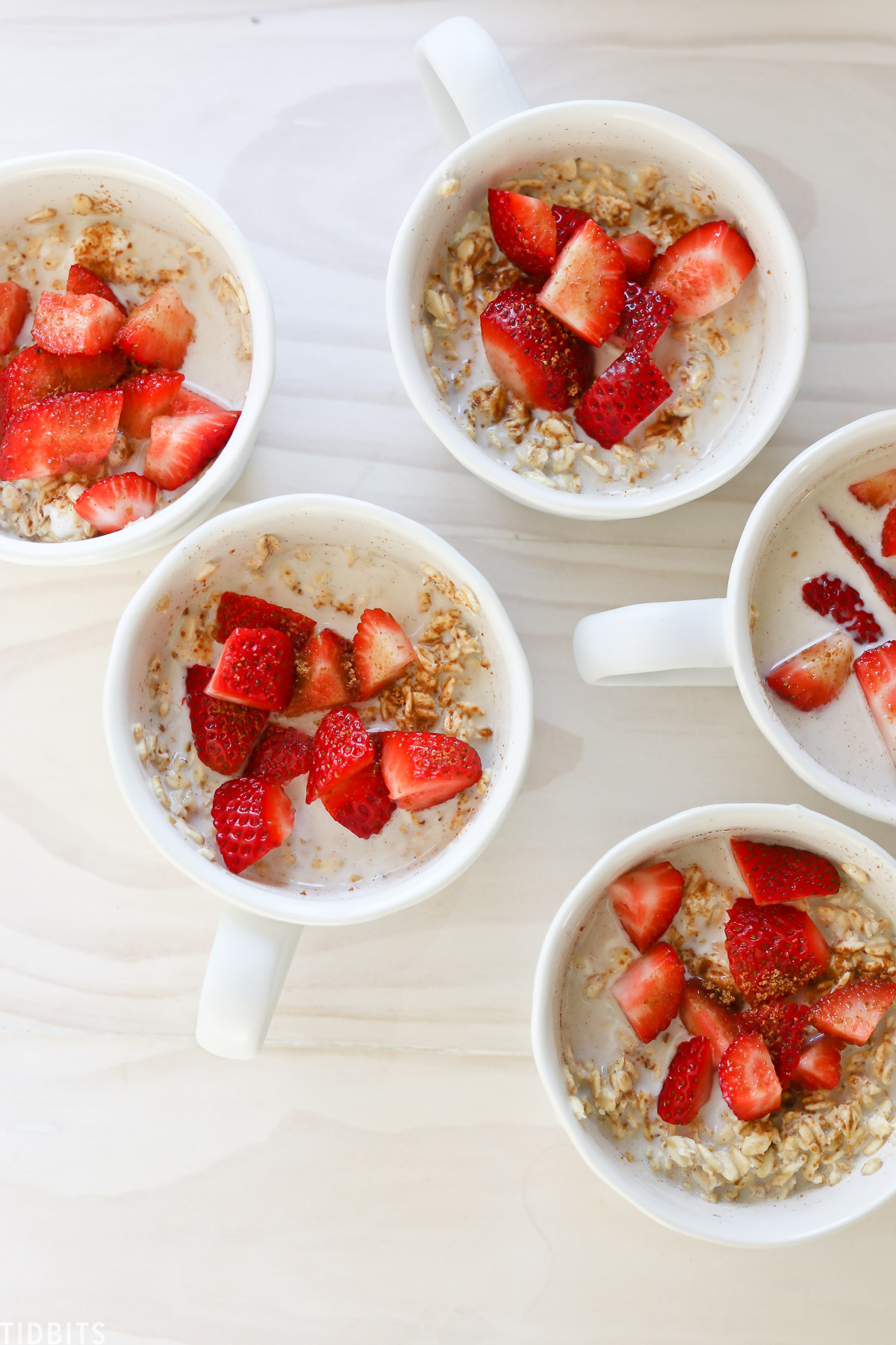 Simple camping meals, overnight oats