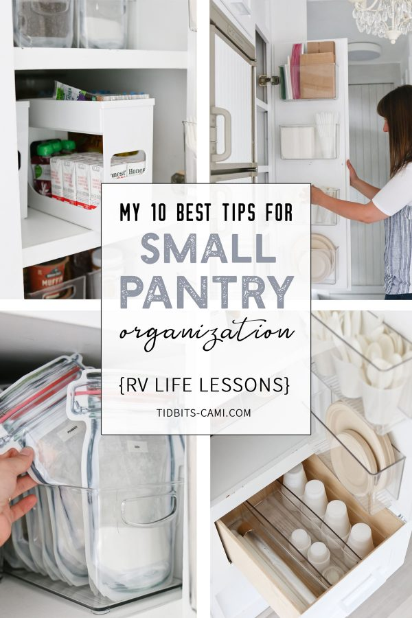 10 best tips for small pantry organization