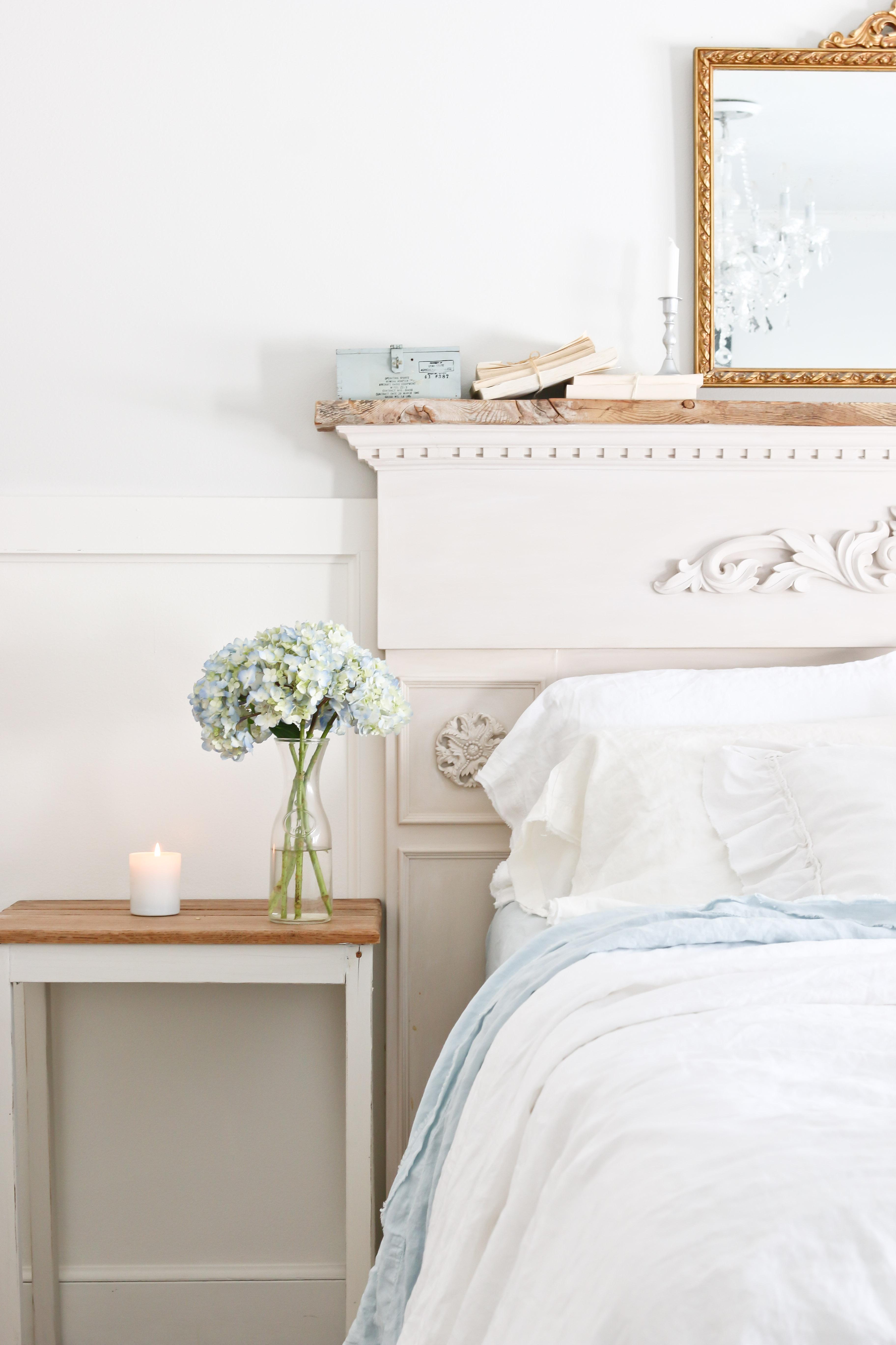 Spring Bedroom Tour Linen Sheets-51