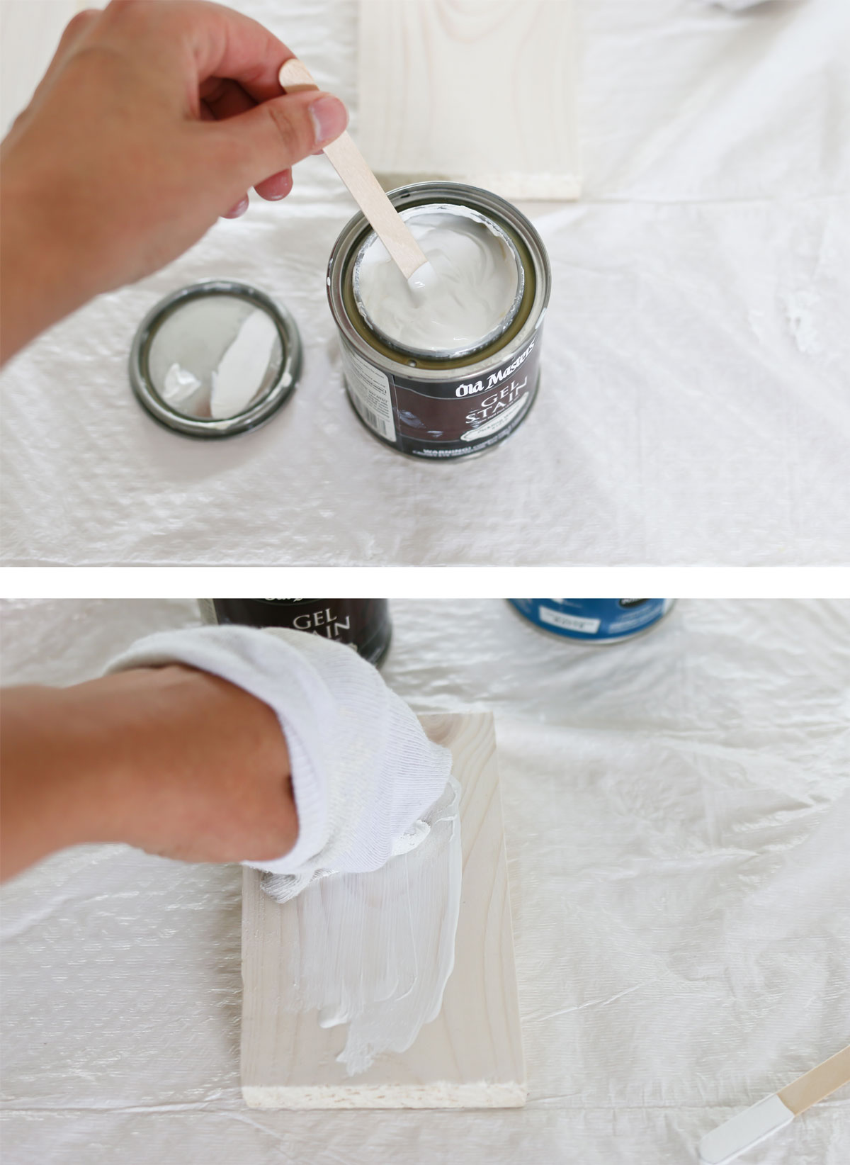 How to apply pickling stain