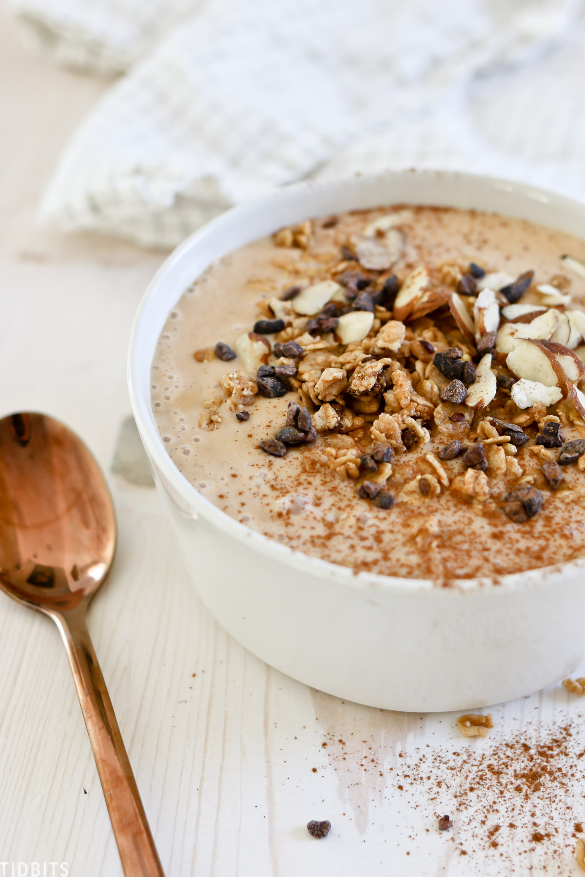 Healthy Pumpkin Smoothie Bowl Recipe