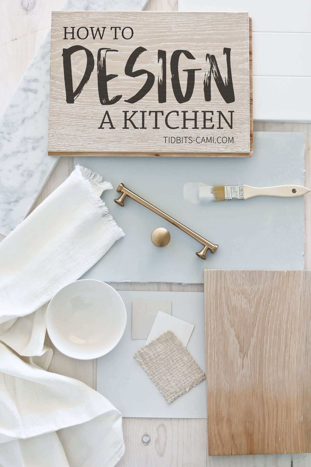 How to Design a Kitchen - the DIY way!