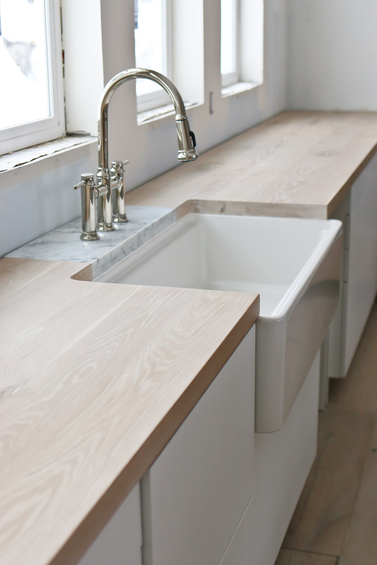 DIY Butcher Block Countertops - oh yes you can!