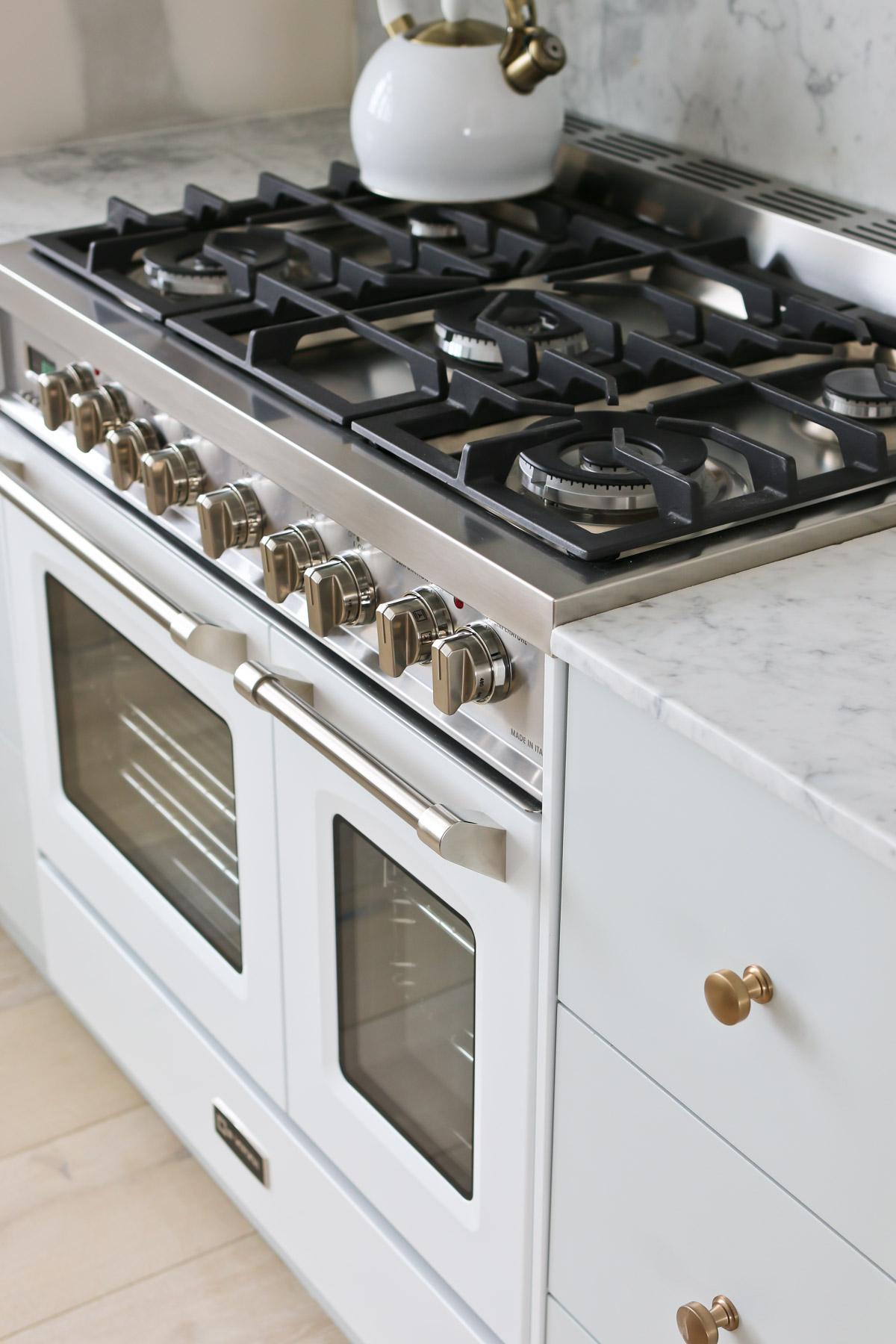DIY Marble Countertops and Backsplash