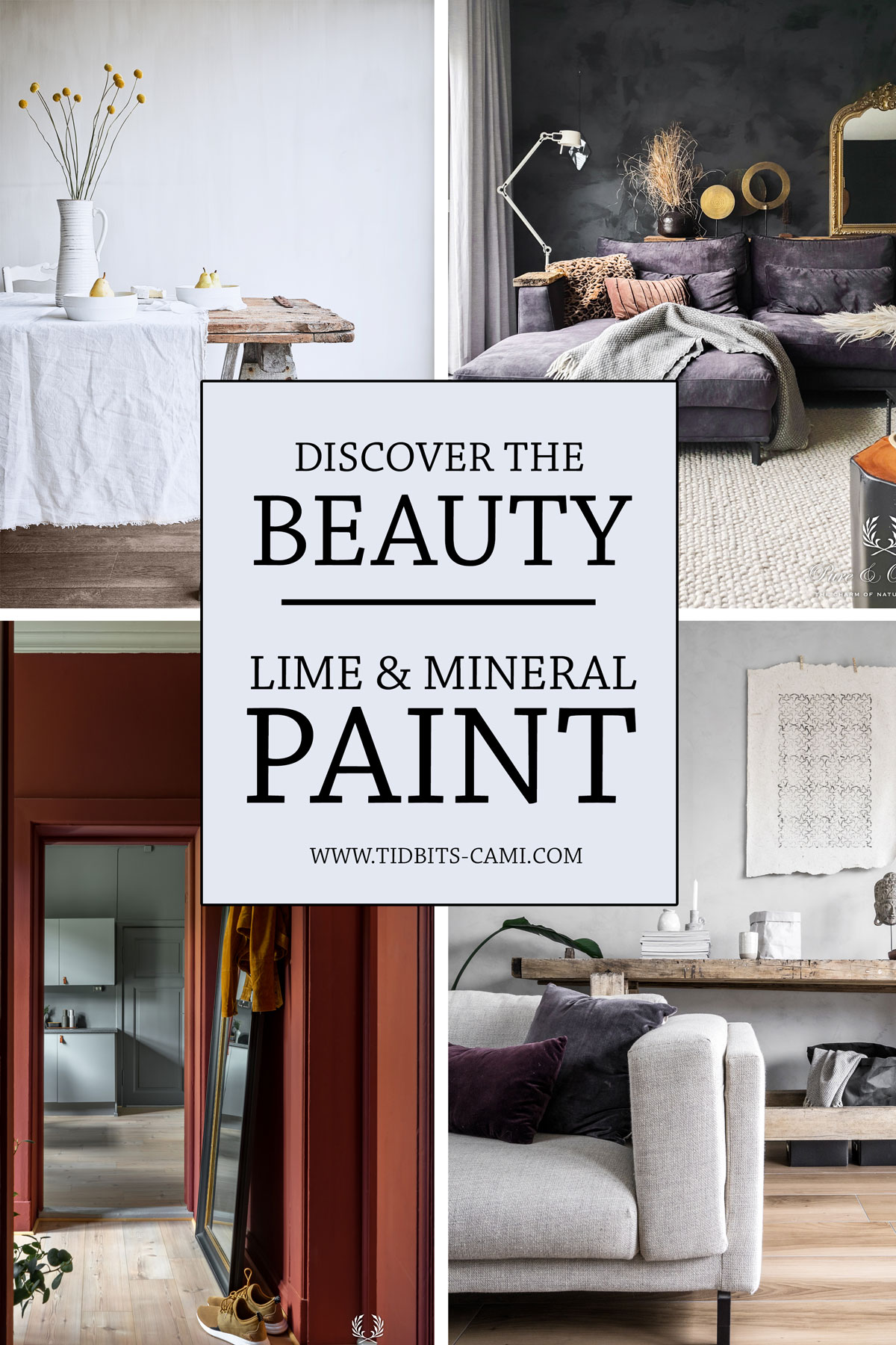 ALL ABOUT LIME AND MINERAL PAINTS FOR YOUR HOME