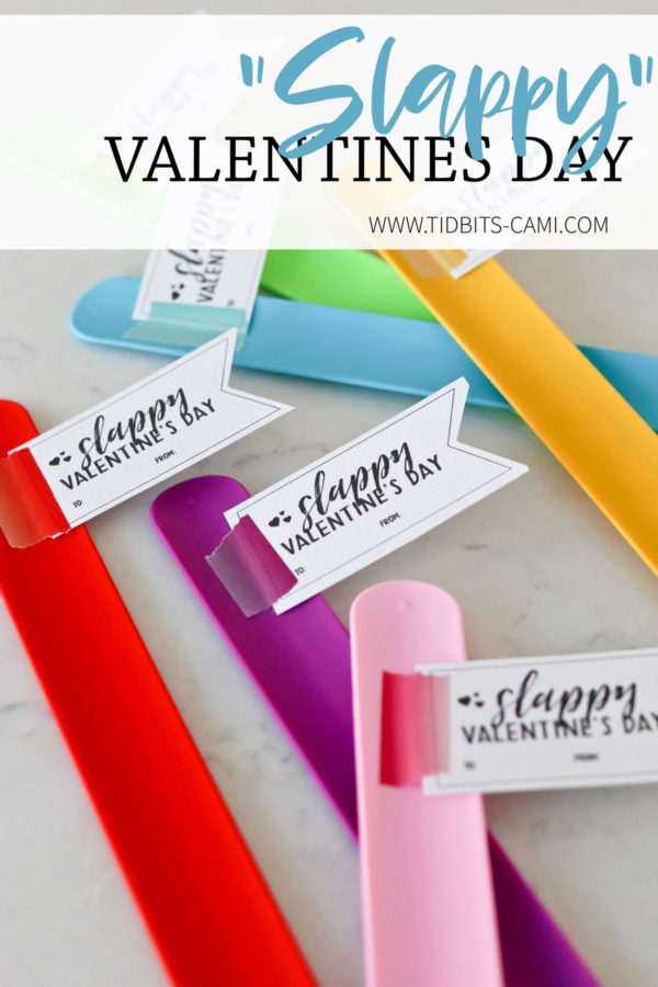Slappy Valentines Day - Free printable for a non candy class valentines.