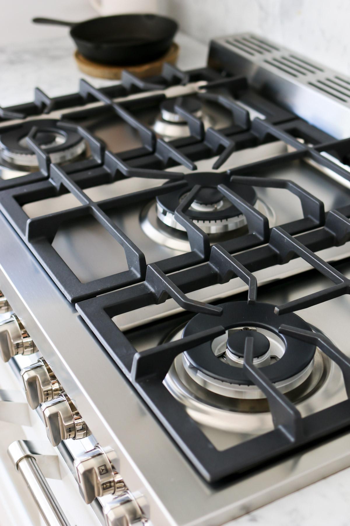 gas cooktop on verona range