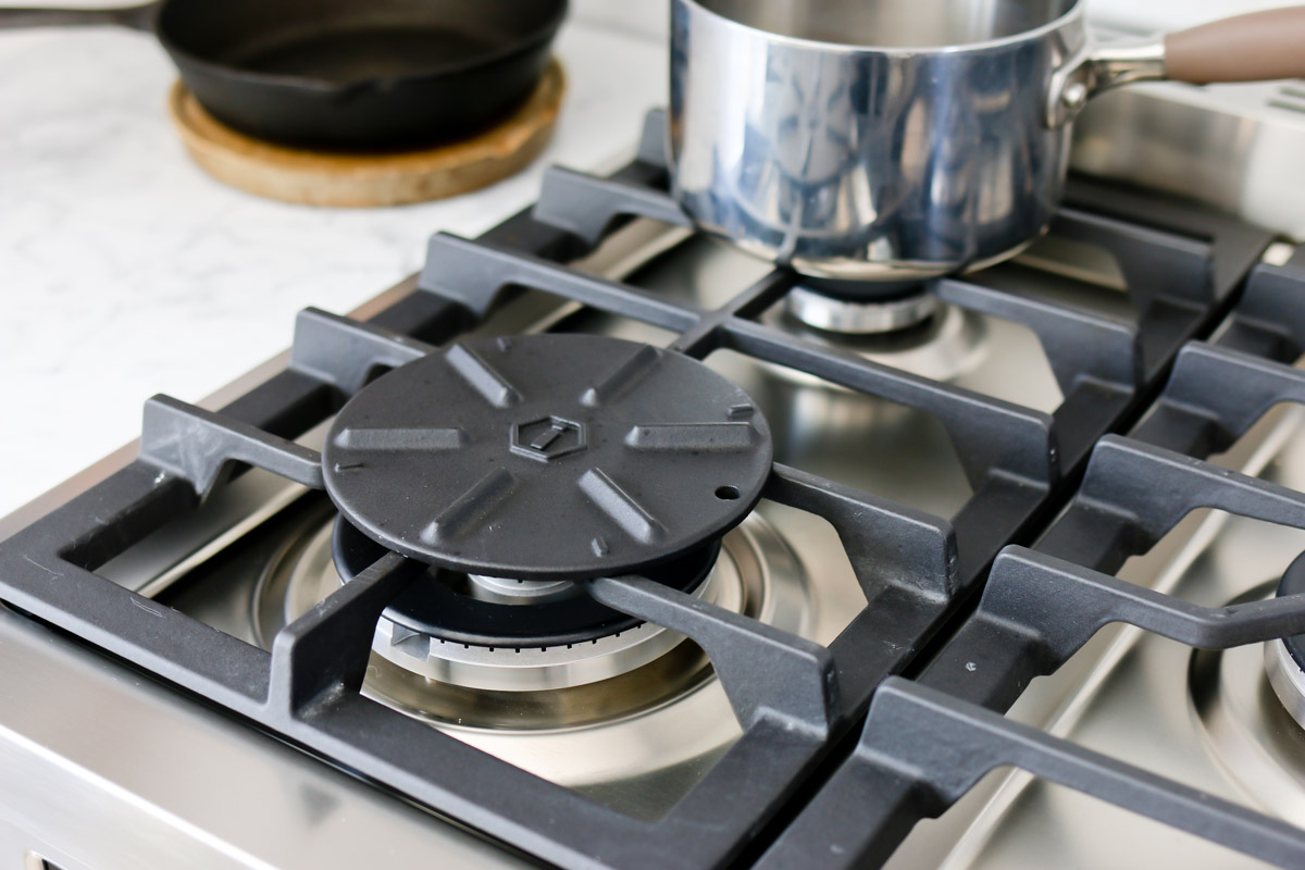 simmer plate for gas cooktop