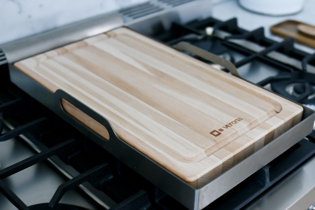 cutting board with verona range