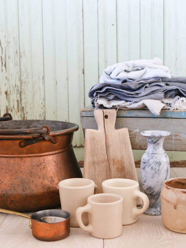 Six Old World Textures I Look For When I Go Antique Shopping Story