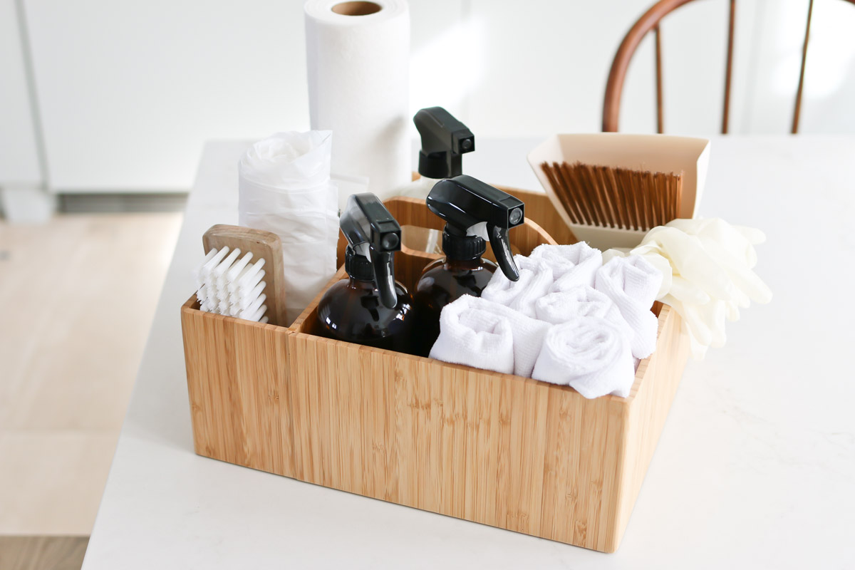 What to Include in your Cleaning Caddy
