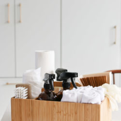 How to Create a Cleaning Caddy with Natural Cleaning Solutions