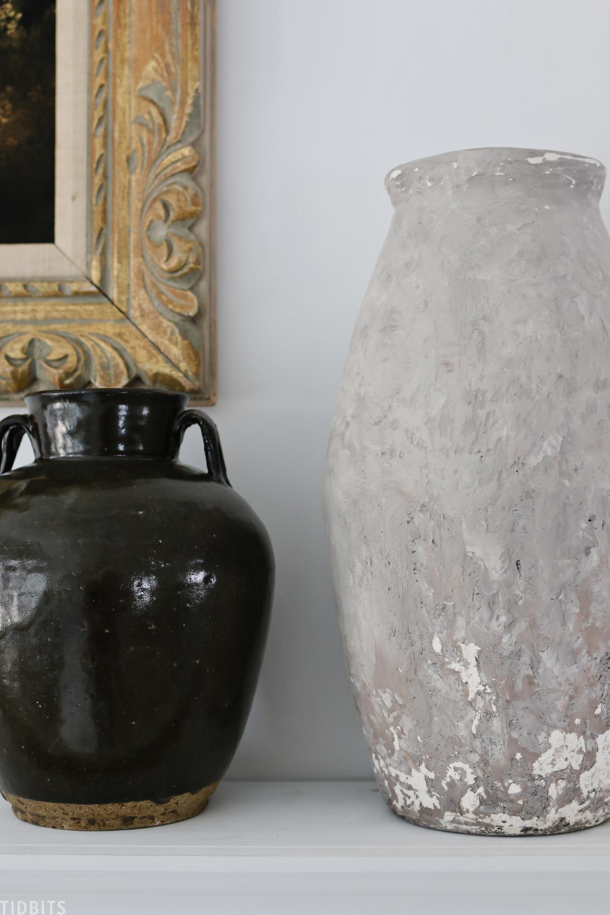 DIY Plaster Vase Makeover | Brand New to Old World Style
