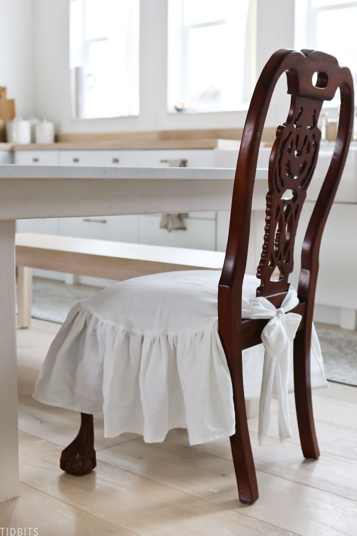 french country chair slipcover