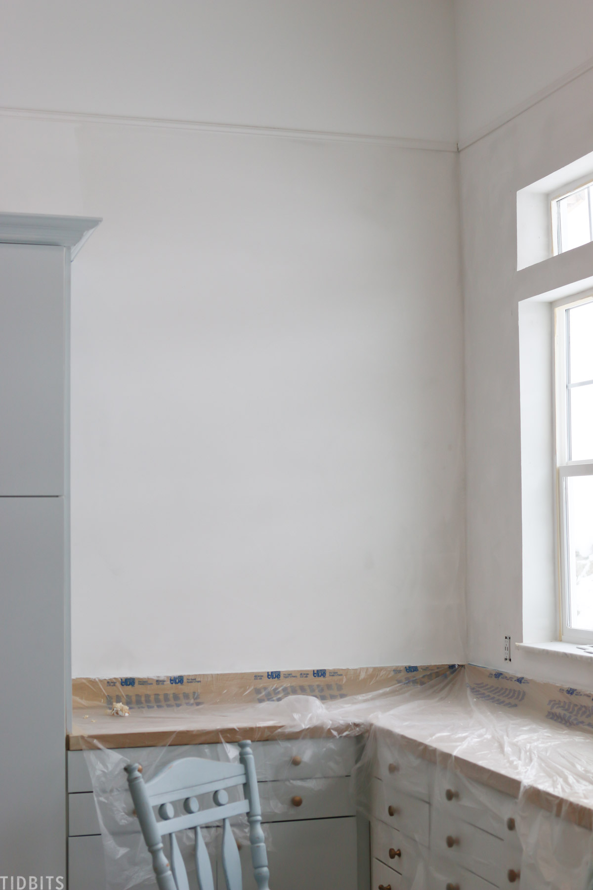 How-to: Lime Paint Plaster Walls